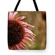 Antique Cone Flower Tote Bag