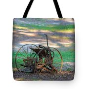 Antique Farm Equipment Tote Bag