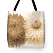 Antique Floral Duo Tote Bag