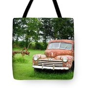 Antique Ford Car 6 Tote Bag