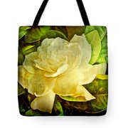 Antique Gardenia Blossom Tote Bag
