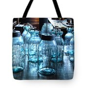 Antique Mason Jars Tote Bag by Mark Sellers