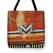Antique Mercury Auto Logo Tote Bag