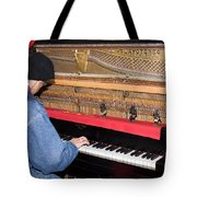 Antique Playtone Piano Tote Bag