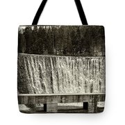 Antique Polish Waterfall Tote Bag