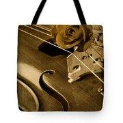 Antique Violin Viola Tote Bag