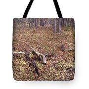Antler Log Tote Bag
