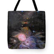Aphrodite In Orion's Nebula Tote Bag