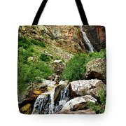 Apikuni Falls Tote Bag