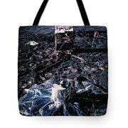 Apollo 14 Lunar Experiments Tote Bag