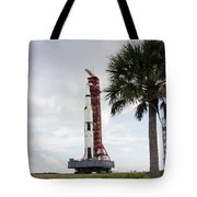 Apollo 4 And Its Mobile Launch Tower Tote Bag