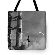 Apollo 8: Launch, 1968 Tote Bag