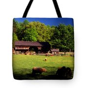 Appalachian Barn Yard Tote Bag