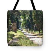 Appian Way In Rome Tote Bag