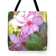 Apple Blossom II Ab2wc Tote Bag