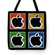 Apple Colors Tote Bag