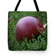 Apple Gravity Tote Bag