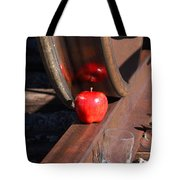 Apple Juice Railroad 4 Tote Bag