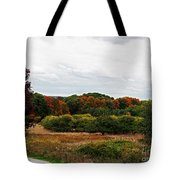 Apple Orchard Gone Wild Tote Bag