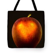 Apple With A Illuminated Heart Tote Bag