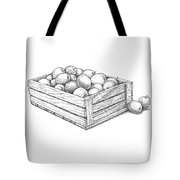 Applecrate Tote Bag by Christy Beckwith