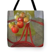 Apples In The Kitchen Tote Bag