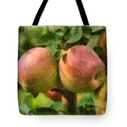 Apples Painterly Tote Bag