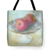 Apples Still Life Print Tote Bag