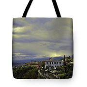 Approaching Storm - Sicily Tote Bag