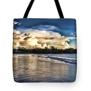 Approaching Storm Clouds Tote Bag