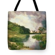 Approaching Storm Tote Bag by Thomas Moran