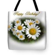 April Birthday Tote Bag
