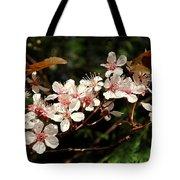 April Plum Blossom Tote Bag