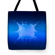 Aqua Blue Tote Bag