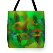 Aqua Residents Tote Bag