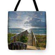 Aqua Seas Tote Bag