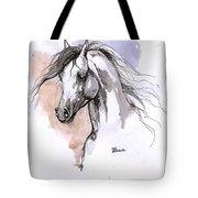 Arabian Horse Ink Drawing 1 Tote Bag