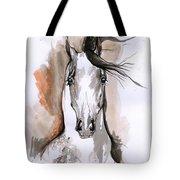 Arabian Horse Ink Drawing 2 Tote Bag