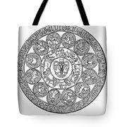Arabic Zodiac Tote Bag