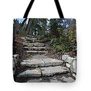 Arboretum Stairway Tote Bag by Tim Allen
