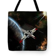 10117 Arc-170 Starfighter Tote Bag