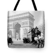 Arc De Triomphe - Paris France - C 1898 Tote Bag