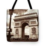 Arc De Triomphe Tote Bag by Kathy Yates