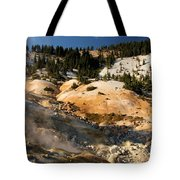 Arc Of Steam Tote Bag