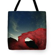 Arch And Stars Tote Bag