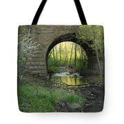 Arch In Spring 3 Tote Bag