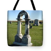 Arch Tombstone Tote Bag