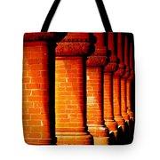 Archaic Columns Tote Bag by Karen Wiles