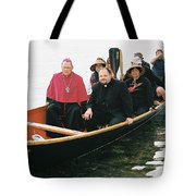 Archbishop Arrives One Tote Bag