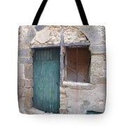 Arched Stone Work Over Door Tote Bag